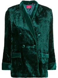 F.R.S For Restless Sleepers Double Breasted Jacket Green