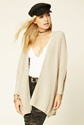 Forever 21 Ribbed Dolman Cardigan
