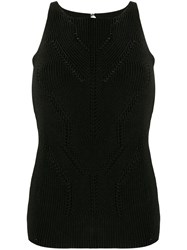 Ermanno Scervino Ribbed Knit Tank Top 60