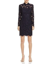 Betsey Johnson Lace Dress Navy