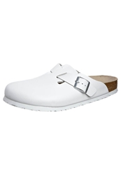 Birkenstock Boston Slippers Weiss White