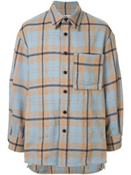 Wooyoungmi Oversized Checked Shirt 60