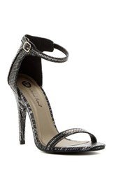 Michael Antonio Rumor Rep Open Toe Heel Black