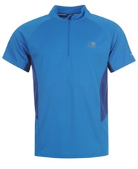 Karrimor 1 4 Zip Short Sleeve Tee From Eastern Mountain Sports Classic Blue