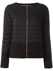 Herno Collarless Puffer Jacket Black