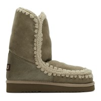 Mou Taupe 24 Mid Calf Boots