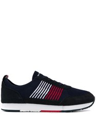 Tommy Hilfiger Mesh Lace Up Sneakers Blue