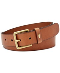 Fossil Diamond Keeper Belt Brown