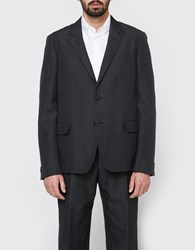 Margaret Howell Soft Blazer Charcoal Black