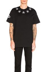 Givenchy Star Tee In Black