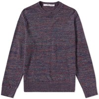 Inis Meain Donegal Linen Crew Knit Multi