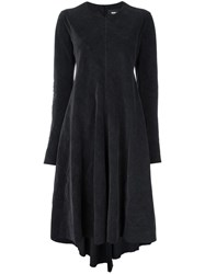 Yang Li Draped Midi Dress Grey
