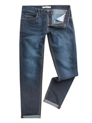 Racing Green Men's Marr Slim Stonewash Jean Blue