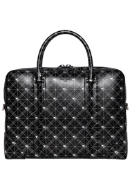 Givenchy Constellations Printed Leather Briefcase Black