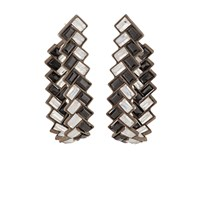 Nak Armstrong Herringbone Hoop Earrings