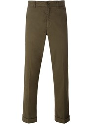 Aspesi Regular Chinos Green