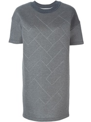 Maison Martin Margiela Maison Margiela Short Jersey Sweater Dress Grey