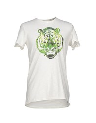 Jcolor Topwear T Shirts Men White