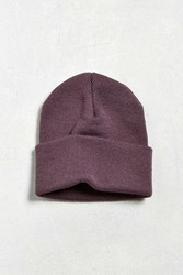 Urban Outfitters Uo Purple Beanie