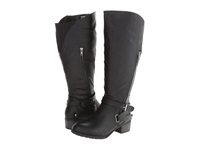 Type Z Liberty Extra Wide Calf Black Women's Wide Shaft Boots