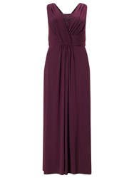 Studio 8 Daphne Full Length Dress Purple