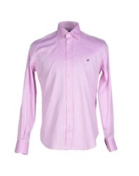 Brooksfield Shirts Shirts Men Light Purple