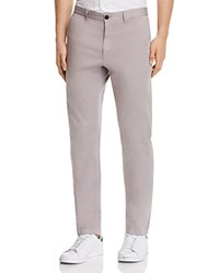 Theory Brewer Soft Sateen Slim Fit Pants Winter Sky