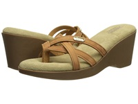 Bass Whitley Whiskey Nubuck Leather Women's Sandals Tan
