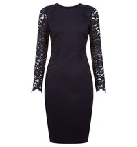 Hobbs Laurel Dress Blue