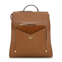 Dune Ducky Removable Front Pouch Backpack Tan