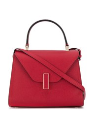 Valextra Iside Cross Body Bag Red