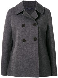 Sofie D'hoore Double Breasted Coat Grey