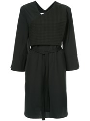 Christopher Esber Short Belted Dress Black