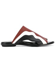 Proenza Schouler Open Toe Sandals Women Leather 40 Red