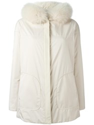 Loro Piana Reversible Wind Jacket Nude Neutrals