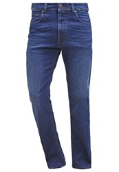 Bugatti Straight Leg Jeans Denim Blue Blue Denim