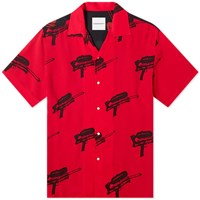 Nasaseasons Water Guns Vacation Shirt Red