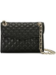 Rebecca Minkoff Quilted Crossbody Bag Black