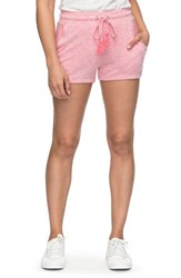 Roxy 'S Cozy Chill Drawstring Shorts Rouge Red Heather