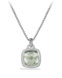 Albion Pendant With Prasiolite And Diamonds David Yurman