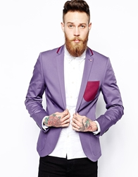 Noose And Monkey Skinny Fit Blazer