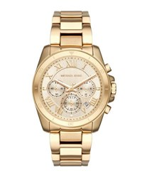 Michael Michael Kors 40Mm Jet Set Chronograph Bracelet Watch Gold