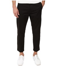 Obey Straggler Flooded Pants Black Men's Casual Pants