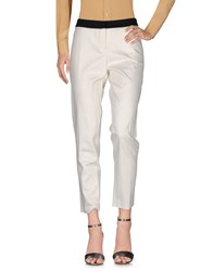 Sinequanone Casual Pants White
