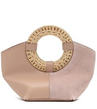 Ulla Johnson Axis Mini Leather Tote Pink