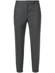 Thom Browne Striped Low Rise Wool Trouser Grey