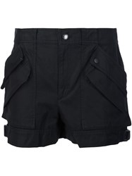 Helmut Lang Cargo Pocket Shorts Black