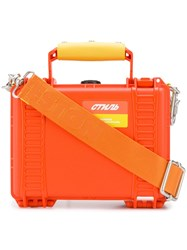 Heron Preston Tool Box Shoulder Bag Orange