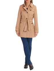 Betty Barclay Belted Trench Coat Natural