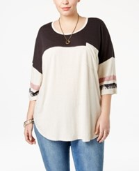American Rag Trendy Plus Size Not Your Babe Graphic T Shirt Only At Macy's Grey